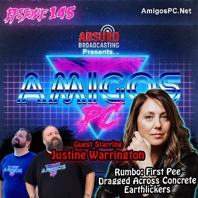 145. Justine Warrington Rumbo: First Pee, Dragged Across Concrete, Earthlickers