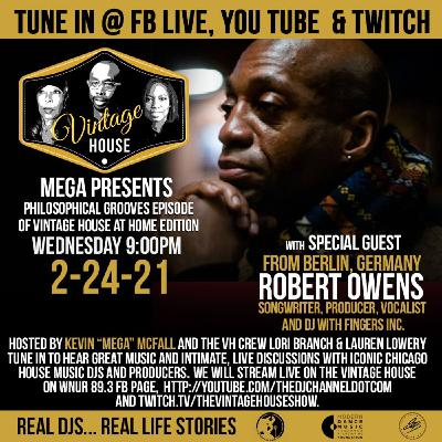 Robert Owens on the Vintage House Show!