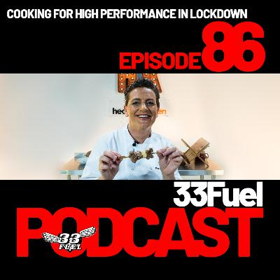 Cooking for high performance in lockdown with Rachel Muse