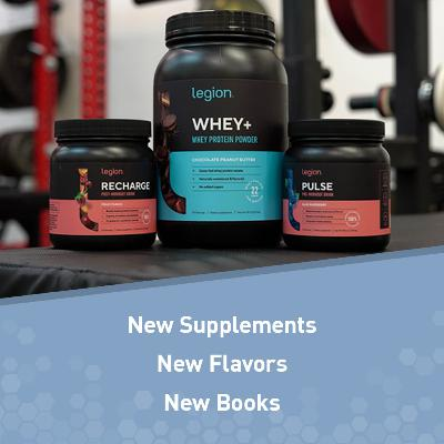 Newsy News How: New Supplements, Flavors, and Formulations, New Books, and More