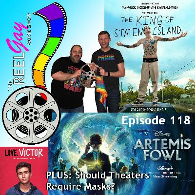 RGMS EP 118: The King of Staten Island / Artemis Fowl / Love, Victor