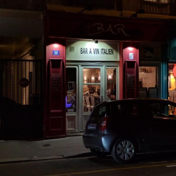 S01E03 - Le Via Barcatta (bar à vins italien)