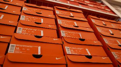 Nike Swooshes Out Of Amazon