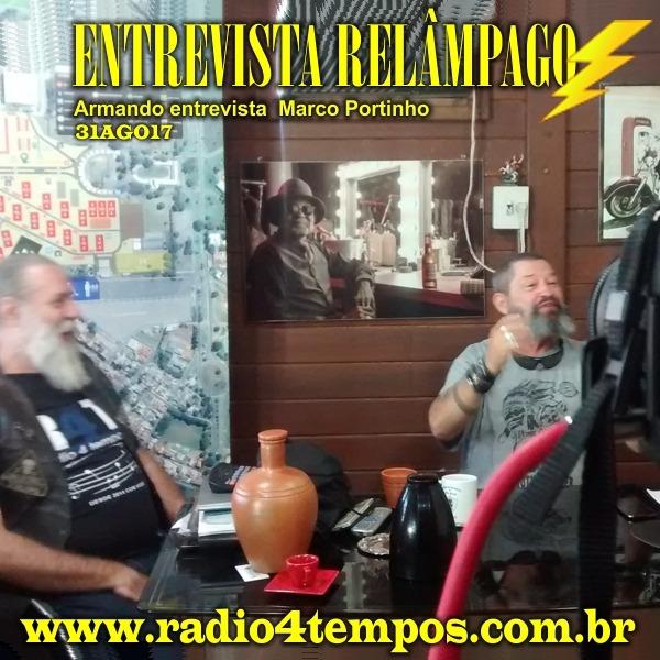 Rádio 4 Tempos - Entrevista Relâmpago 29