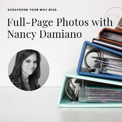 SYW125 - Full-Page Photos with Nancy Damiano