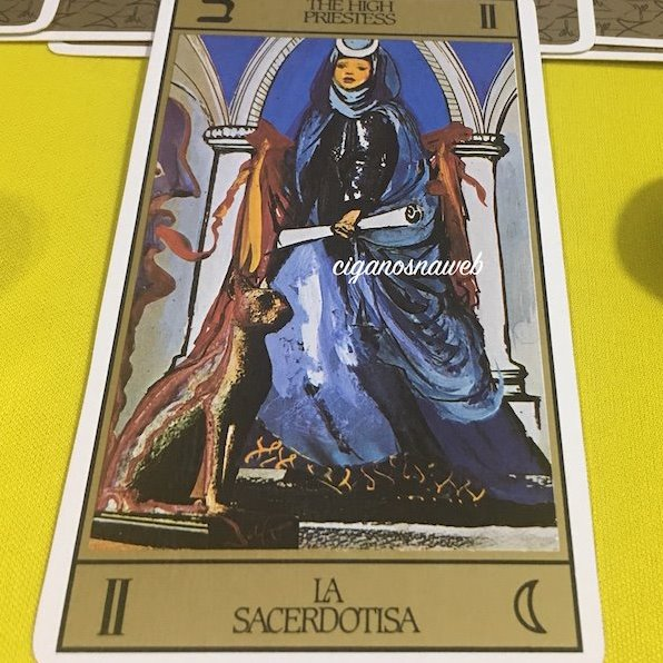 Tarot da Semana - A Sacerdotisa