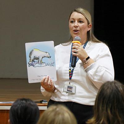 Parent Workshop - Phonics in Primary by Kiara Gray, Deputy Head of Primary