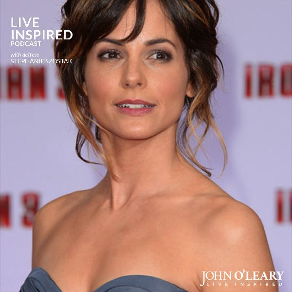 Living Inspired with Actress Stephanie Szostak #101