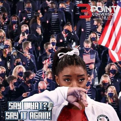 Say What Say It Again - Simone Biles and Team USA