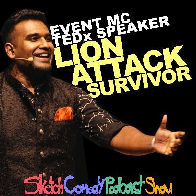 Dan Ram | Event MC, TEDx Speaker & Lion Attack Survivor