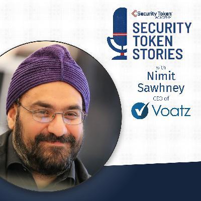 """Nimit Sawhney - Voatz (Episode #23 - """"Voting on Blockchain"""")"""