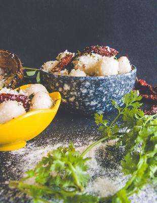 124: How to Make Ammini Kozhakattai Recipe - Steamed Rice Dumplings