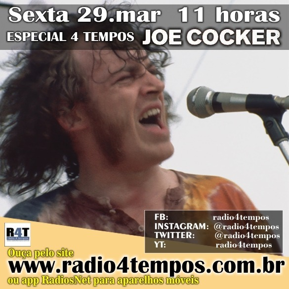 Rádio 4 Tempos - Especial 4 Tempos - Joe Cocker