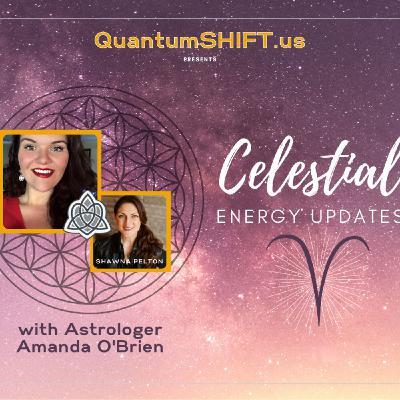 {Celestial Energy Updates} ♈️Aries Season, with Astrologer Amanda O'Brien