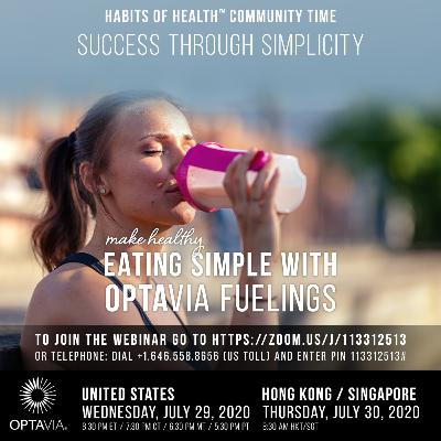 Success through Simplicity - Make Healthy Eating Simple with OPTAVIA Fuelings 07.29.20