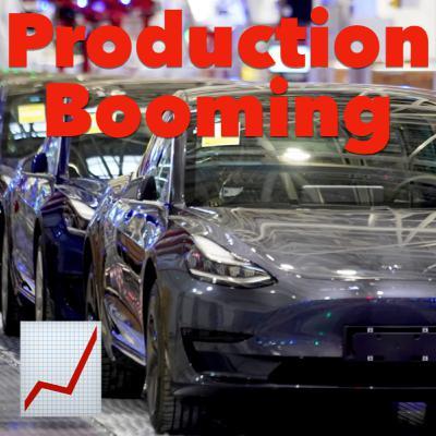 Tesla Shanghai Production Hitting Record Highs 📈