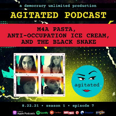 agitated. S1 Ep7 - M4A Pasta, Anti-Occupation Ice Cream, and the Black Snake