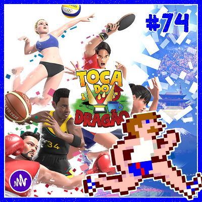 TDD EP#74 | GAMELOG | Jogos de Vídeo Game Olímpicos!