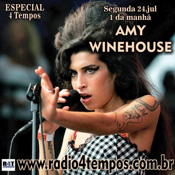Rádio 4 Tempos - Especial 4 Tempos - Amy Winehouse