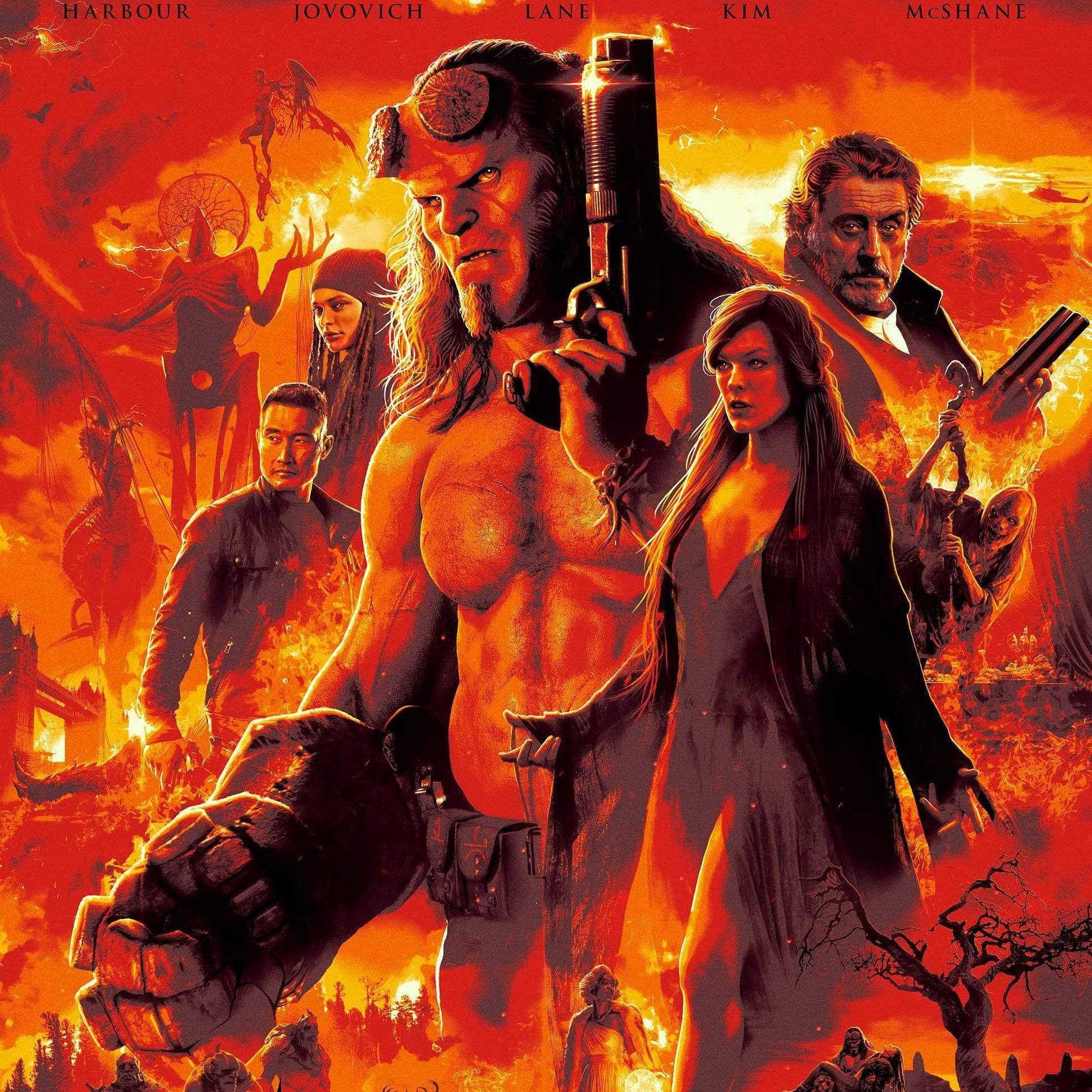 Hellboy 2019 نقد و بررسی فیلم