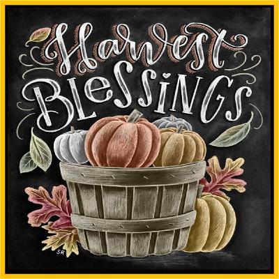 018 - Happy Harvest Season!