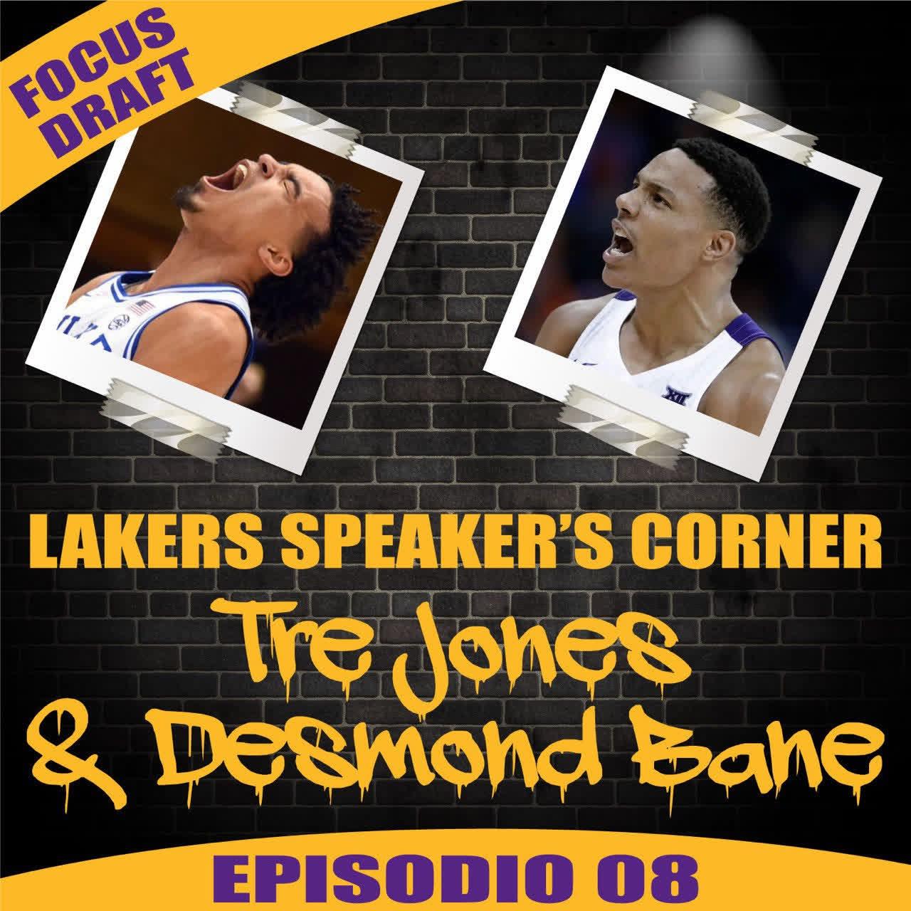 LSC Focus Draft 08: Tre Jones & Desmond Bane
