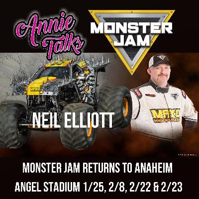 Episode 93 - Annie Talks with Monster Jam Max-D™ Truck Driver Neil Ellliott