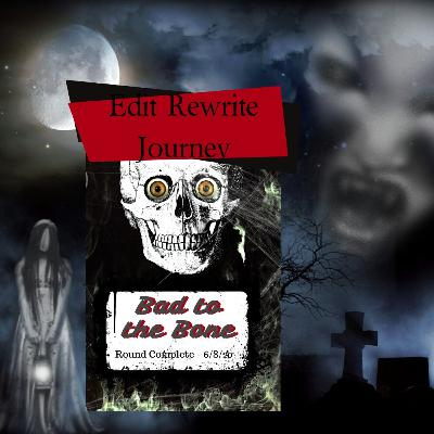 Celebrating a New Editing Strategy - Rewrite Your Book- Middle Grades Horror Comedy