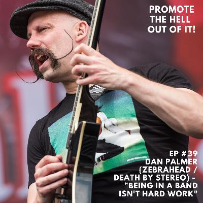 "Dan Palmer ( Zebrahead / Death By Stereo ) -  ""Being In A Band Isn't Hard Work!"""