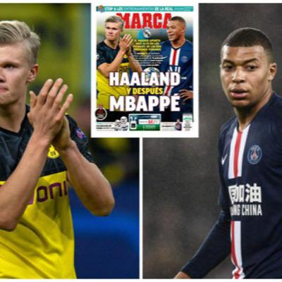 Names in the news, Harry Kane, Mbappe, Haaland and Aubamayang plus Havertz teases a move away from Germany.