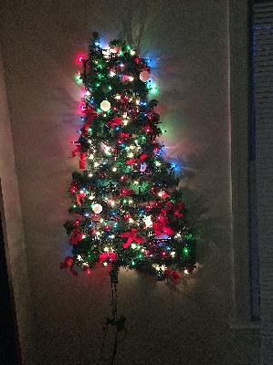 Wall Christmas Tree: Pardon the Interruption Chicken Snob