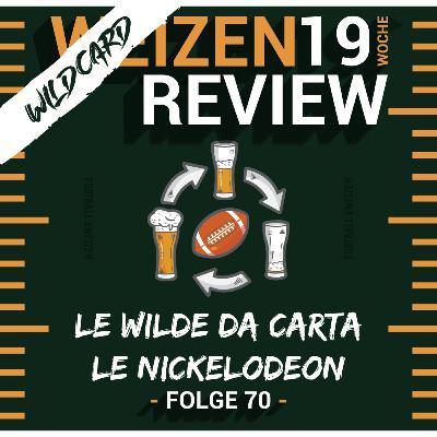 Le Wilde Da Carta Le Nickelodeon   Weizenreview Wildcard   S2 E 70   NFL Football