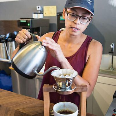 Lieanne Navarro of Dear Globe Coffee Roasters