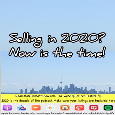 Episode 323: Is this the best month to sell in 2020 & why Open houses 🏘 don't help you