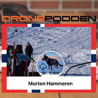 """Episode nr. 12 - Livredderen Morten Hammeren, bosatt ved Lom i hjertet av Jotunheimen, """"besøker"""" DronePodden"""