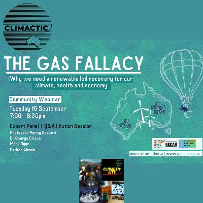 Climactic Live | PECAN, GECAN & BECAN - THE GAS FALLACY