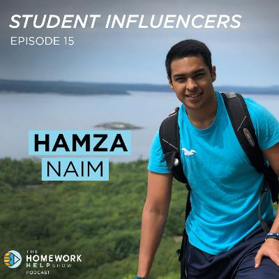 Hamza Naim on Taking Chances, Applying to Law School, and Volunteer Work | Student Influencers EP 15