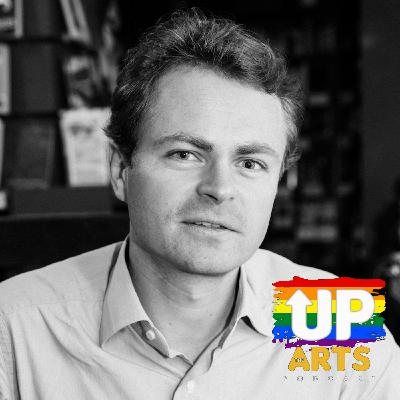 Up The Arts: Stuck Indoors - Rutger Bruining on writing *that book* whilst you're stuck indoors