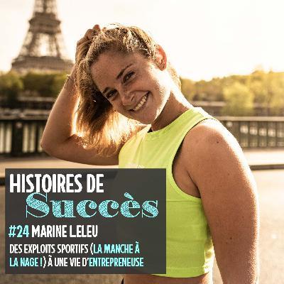 Marine Leleu, d'Enduro Woman à biznesswoman