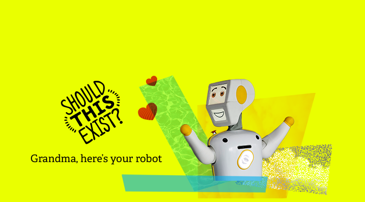 Grandma, here's your robot