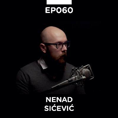 EP 060: Nenad Sićević, Graphic recording - Pojačalo Podcast
