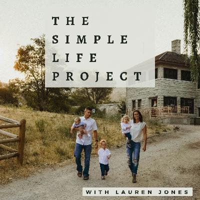 The Motherhood Pep Talk: Seeking Intentional Simplicity