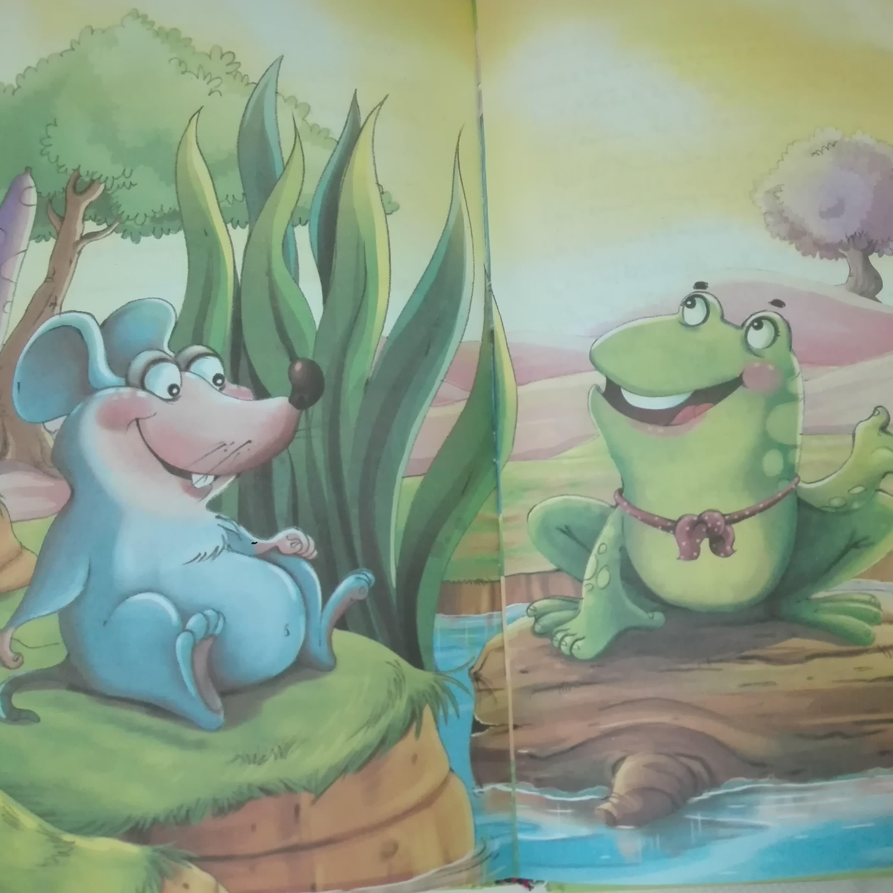 قصههای پندآموز کهن؛ دوستی موش و قورباغه