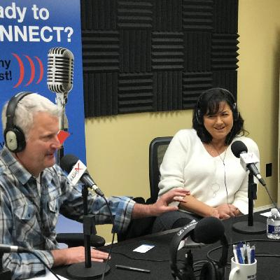 Stacey Watts, Corporate Payroll Services, and Greg Godwin, Pedego Electric Bikes Alpharetta