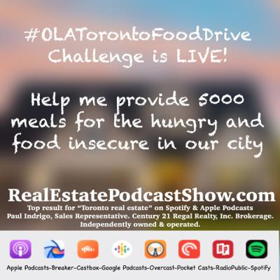 Episode 279: OLA Toronto food drive challenge is LIVE!