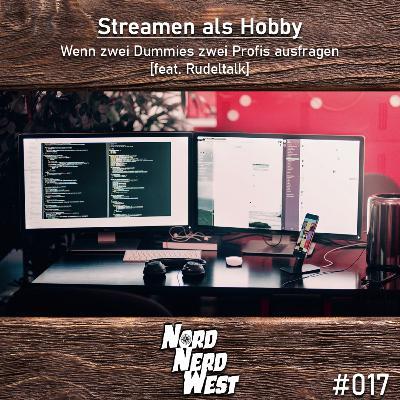 #017 Streamen als Hobby - Wenn zwei Dummies zwei Profis ausfragen [feat. Rudeltalk]