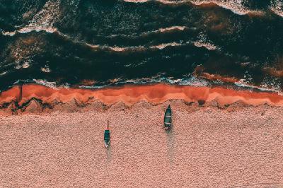 Pētnieks: Baltijas jūras piekraste mūsdienās ir apmēram tāda pati kā pirms simts gadiem