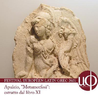 """FELG 2021 (Apuleius, """"Metamorphoses"""", book 11): Glaucopis (Rome)"""