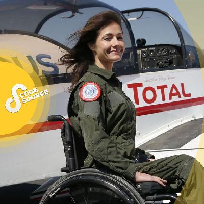 Privée de ses jambes après un crash, comment Dorine Bourneton est devenue pilote d'avion