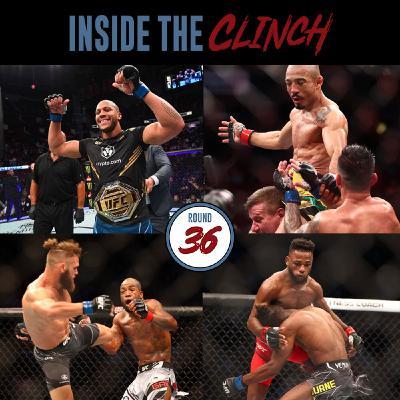 Round 36- UFC 256 Ciryl Gane vs Derrick Lewis Recap